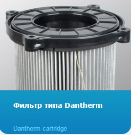 Фильтр типа Dantherm, Dantherm cartridge
